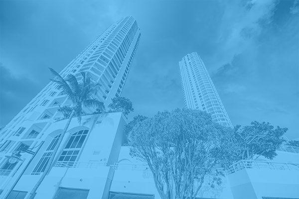Brickell FL blue overlay