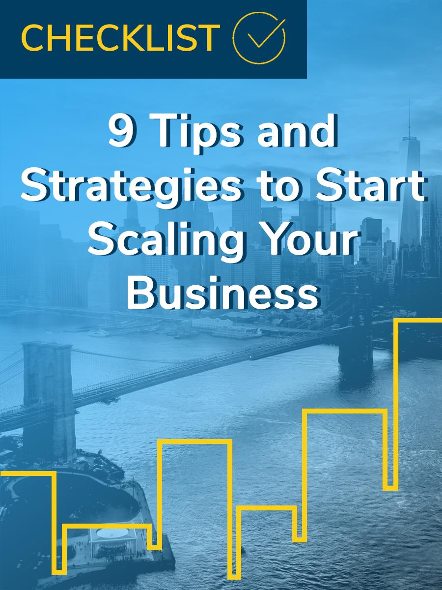 scaling checklist
