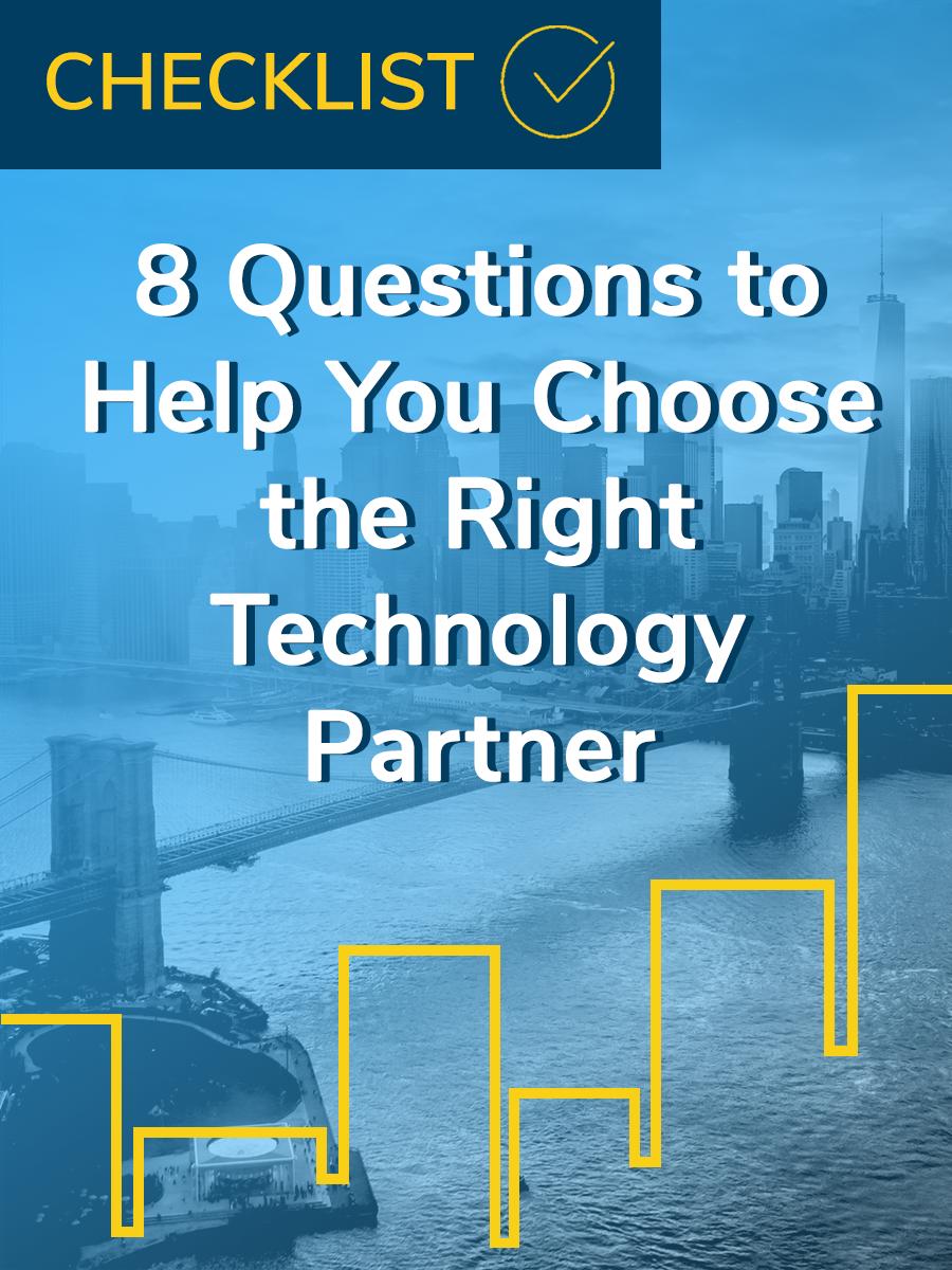 technology partner checklist