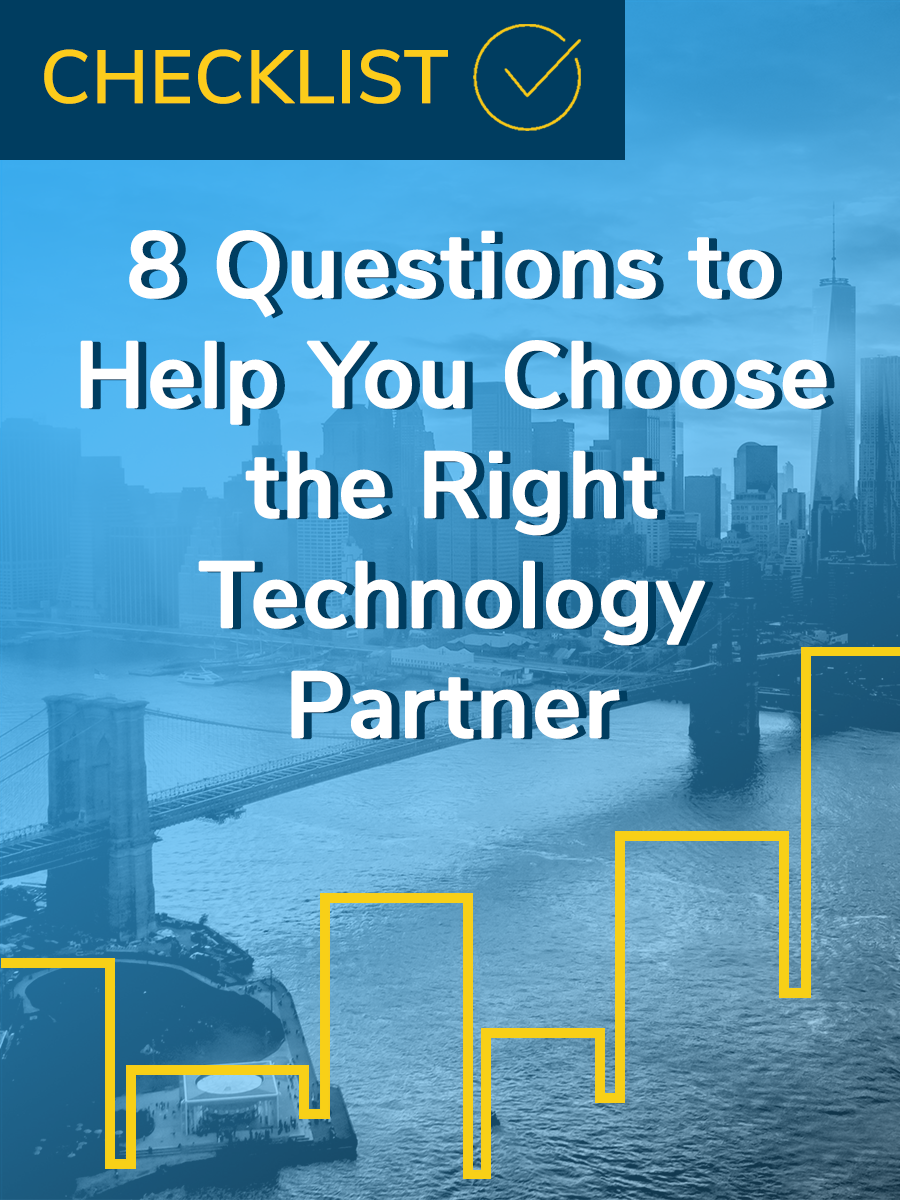 technology partner checklist