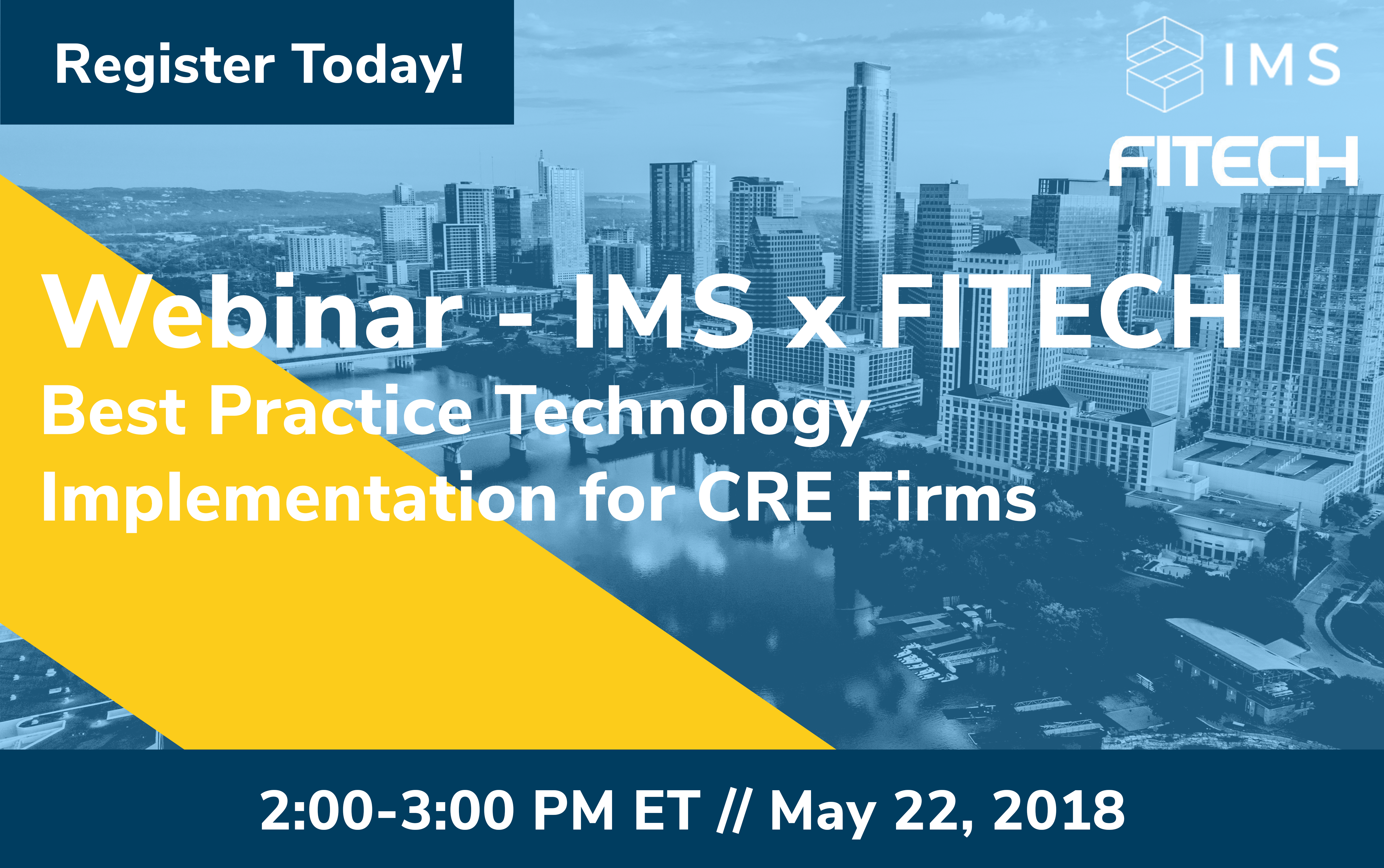 Webinar - Best Practice Technology Implementation for CRE Firms